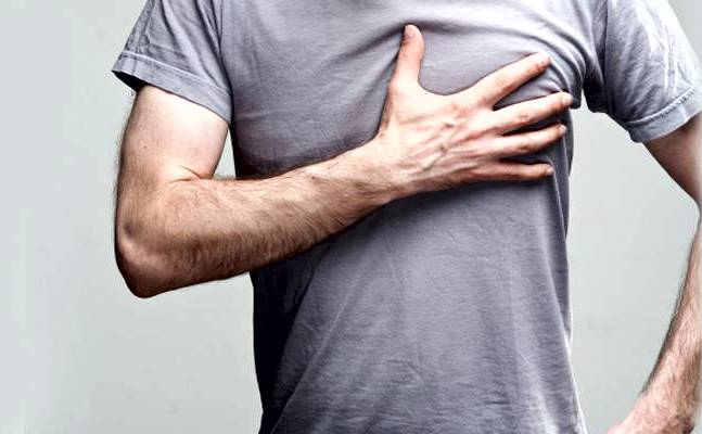 боль в области сердца как симптом НЦД по гипотензивному типу
