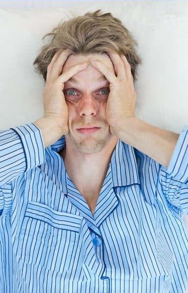 Вот так выглядит мужчина с недосыпом...