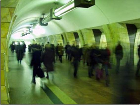 Нарушения зрения в метро.