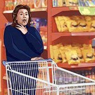 Паническая атака может застигнуть врасплох, даже в супермаркете...