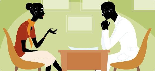 Диалог врача и больного