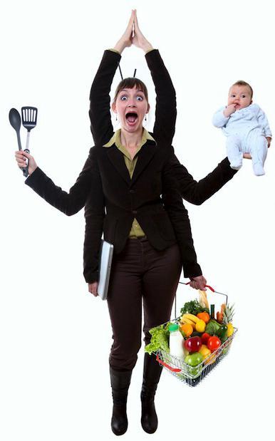 Излишний стресс в жизни каждой женщины...
