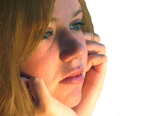 Женщина в послеразводной депрессии