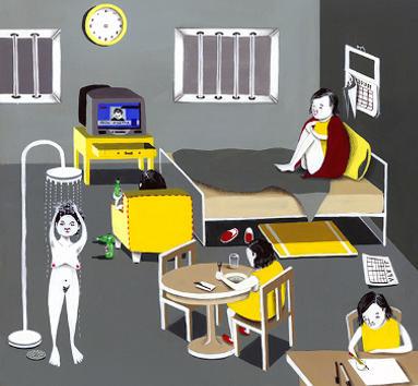 Затворничество как симптом агорафобии.