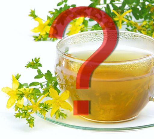 Чай из зверобоя при депрессии под знаком вопроса